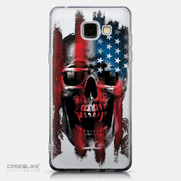 CASEiLIKE Samsung Galaxy A5 (2016) back cover Art of Skull 2532