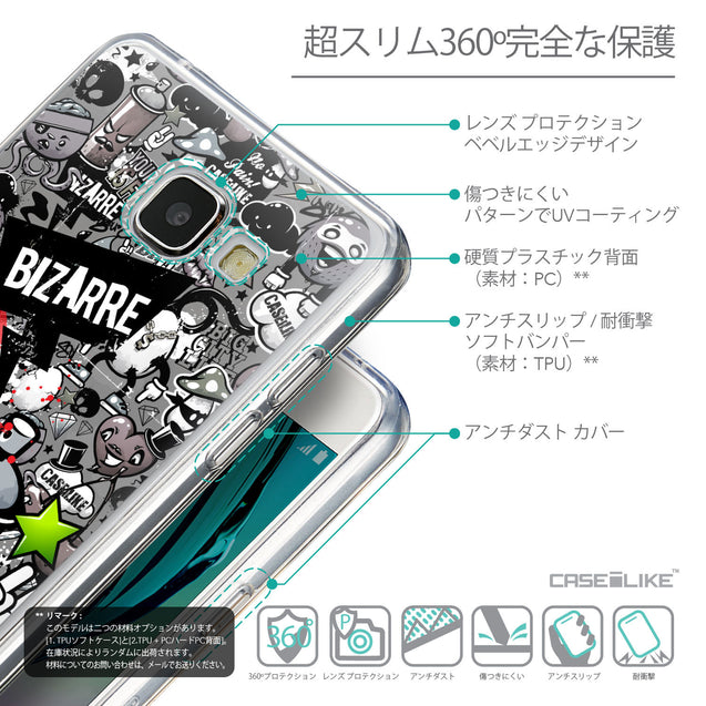 Details in Japanese - CASEiLIKE Samsung Galaxy A5 (2016) back cover Graffiti 2705