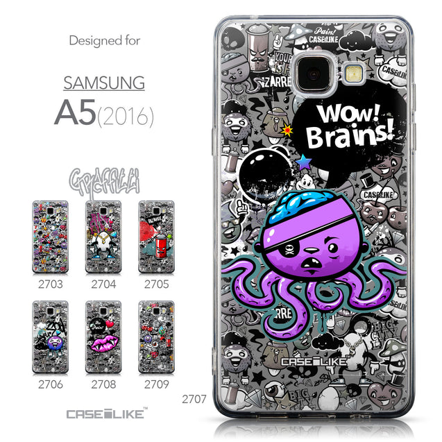 Collection - CASEiLIKE Samsung Galaxy A5 (2016) back cover Graffiti 2707
