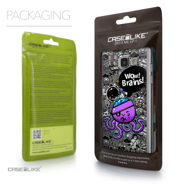 Packaging - CASEiLIKE Samsung Galaxy A5 (2016) back cover Graffiti 2707