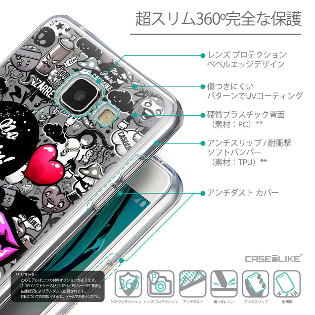 Details in Japanese - CASEiLIKE Samsung Galaxy A5 (2016) back cover Graffiti 2708