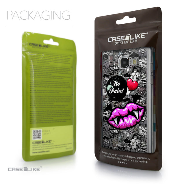 Packaging - CASEiLIKE Samsung Galaxy A5 (2016) back cover Graffiti 2708