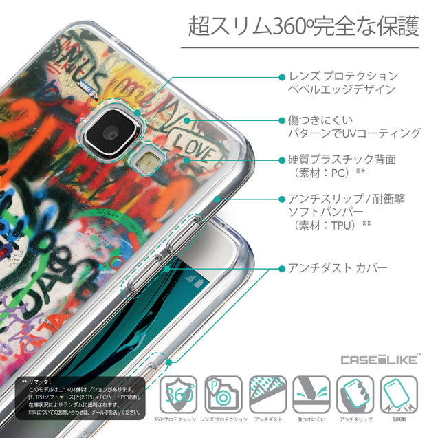 Details in Japanese - CASEiLIKE Samsung Galaxy A5 (2016) back cover Graffiti 2721