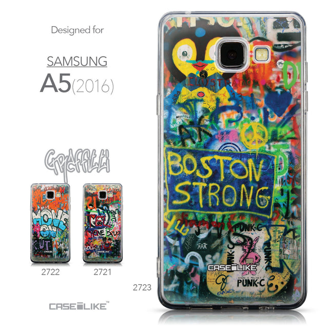 Collection - CASEiLIKE Samsung Galaxy A5 (2016) back cover Graffiti 2723