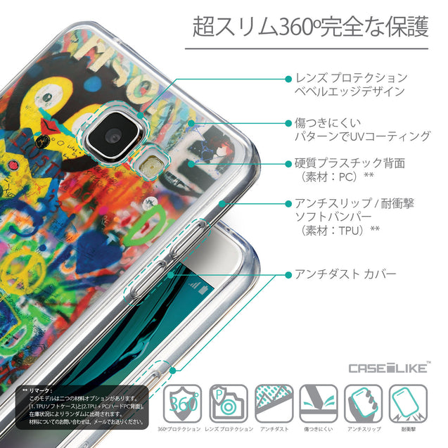 Details in Japanese - CASEiLIKE Samsung Galaxy A5 (2016) back cover Graffiti 2723