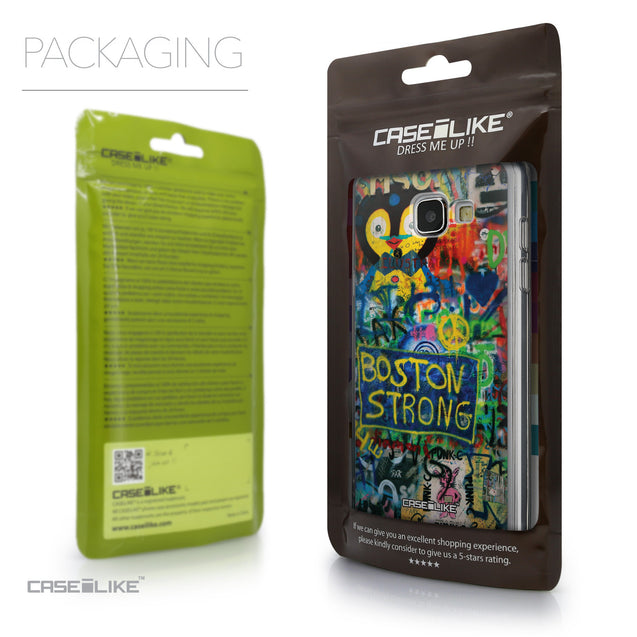 Packaging - CASEiLIKE Samsung Galaxy A5 (2016) back cover Graffiti 2723