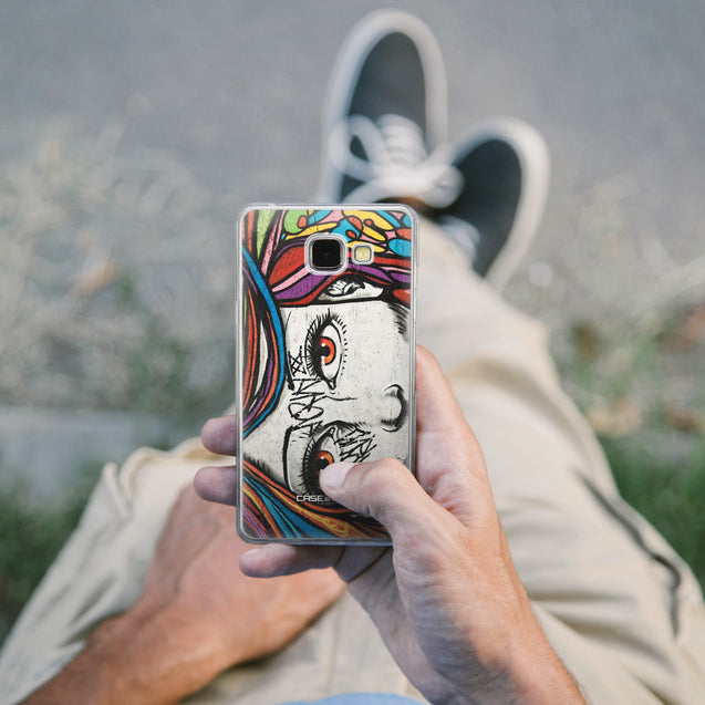 Share - CASEiLIKE Samsung Galaxy A5 (2016) back cover Graffiti Girl 2725