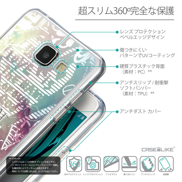 Details in Japanese - CASEiLIKE Samsung Galaxy A5 (2016) back cover Graffiti 2726