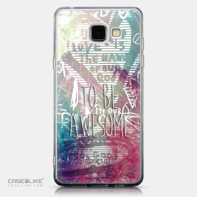 CASEiLIKE Samsung Galaxy A5 (2016) back cover Graffiti 2726