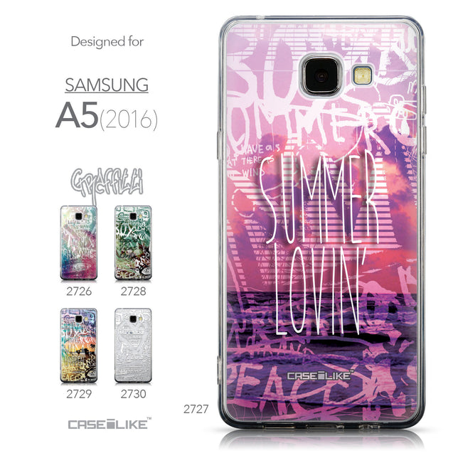 Collection - CASEiLIKE Samsung Galaxy A5 (2016) back cover Graffiti 2727