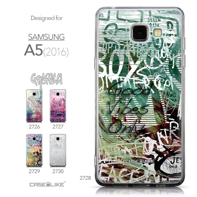 Collection - CASEiLIKE Samsung Galaxy A5 (2016) back cover Graffiti 2728