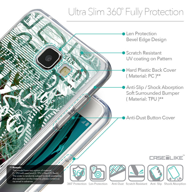 Details in English - CASEiLIKE Samsung Galaxy A5 (2016) back cover Graffiti 2728