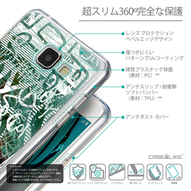 Details in Japanese - CASEiLIKE Samsung Galaxy A5 (2016) back cover Graffiti 2728