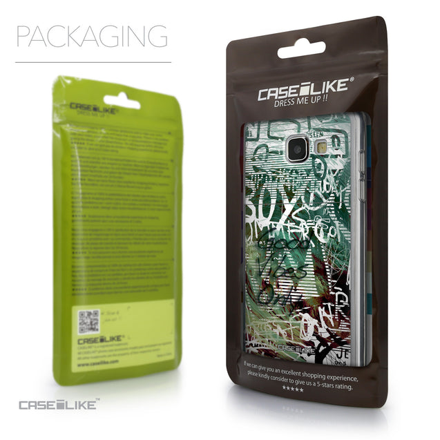 Packaging - CASEiLIKE Samsung Galaxy A5 (2016) back cover Graffiti 2728