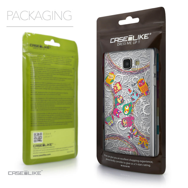 Packaging - CASEiLIKE Samsung Galaxy A5 (2016) back cover Owl Graphic Design 3316