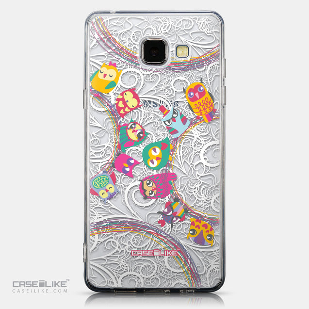 CASEiLIKE Samsung Galaxy A5 (2016) back cover Owl Graphic Design 3316