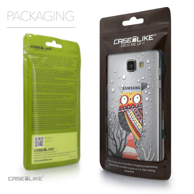 Packaging - CASEiLIKE Samsung Galaxy A5 (2016) back cover Owl Graphic Design 3317