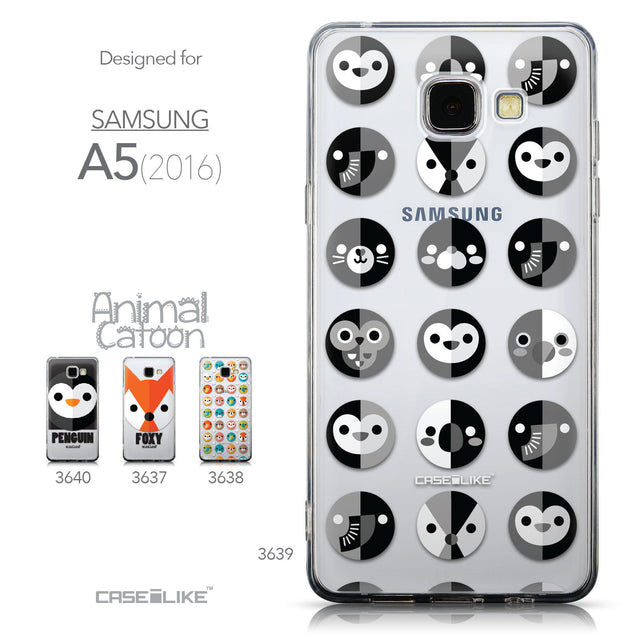 Collection - CASEiLIKE Samsung Galaxy A5 (2016) back cover Animal Cartoon 3639