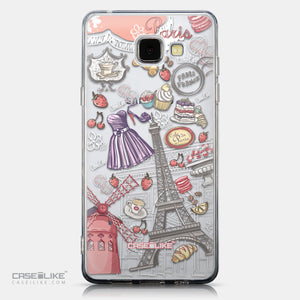 CASEiLIKE Samsung Galaxy A5 (2016) back cover Paris Holiday 3907