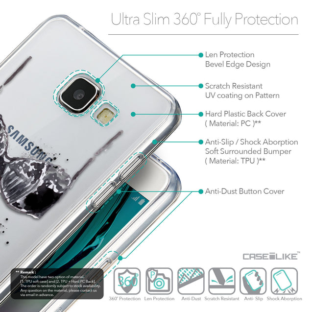 Details in English - CASEiLIKE Samsung Galaxy A5 (2016) back cover Paris Holiday 3910