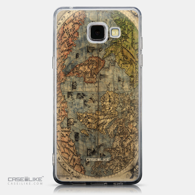 CASEiLIKE Samsung Galaxy A5 (2016) back cover World Map Vintage 4608