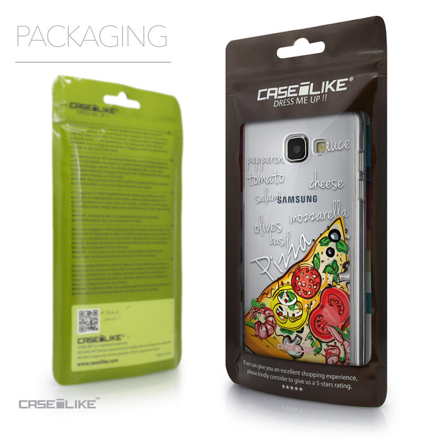 Packaging - CASEiLIKE Samsung Galaxy A5 (2016) back cover Pizza 4822