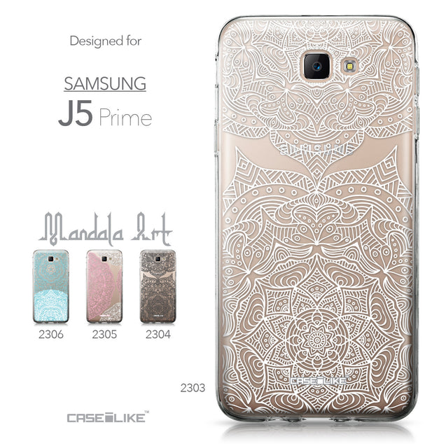 Samsung Galaxy J5 Prime / On5 (2016) case Mandala Art 2303 Collection | CASEiLIKE.com