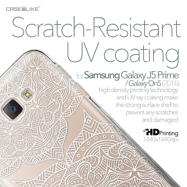 Samsung Galaxy J5 Prime / On5 (2016) case Mandala Art 2303 with UV-Coating Scratch-Resistant Case | CASEiLIKE.com