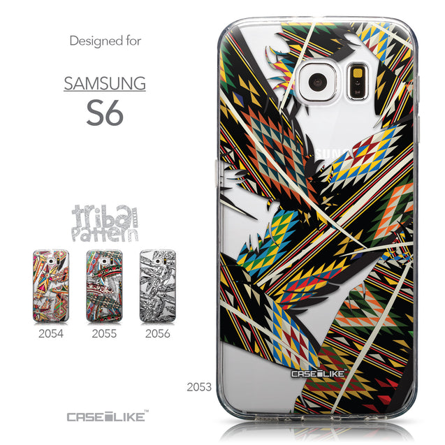 Collection - CASEiLIKE Samsung Galaxy S6 back cover Indian Tribal Theme Pattern 2053