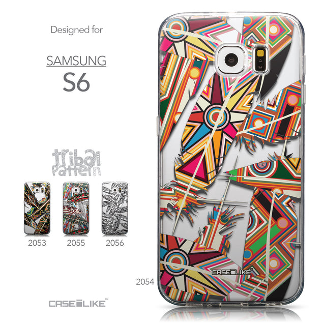 Collection - CASEiLIKE Samsung Galaxy S6 back cover Indian Tribal Theme Pattern 2054