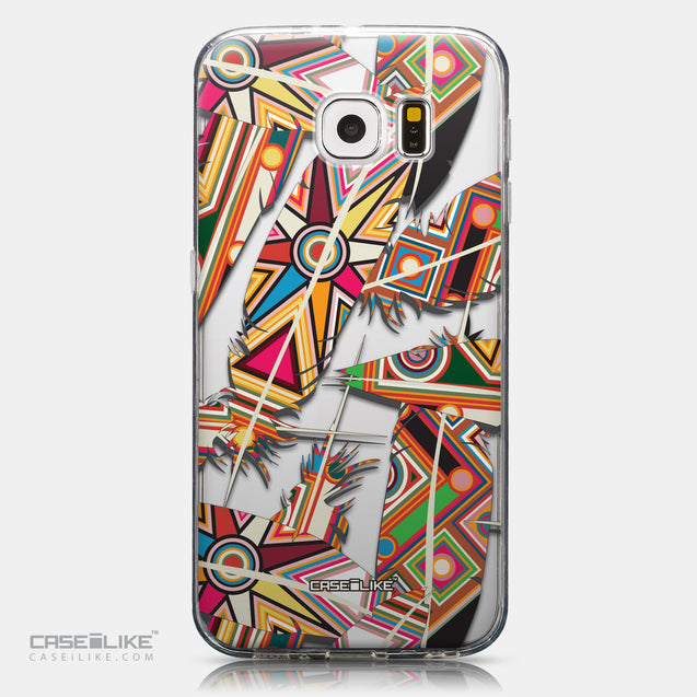 CASEiLIKE Samsung Galaxy S6 back cover Indian Tribal Theme Pattern 2054