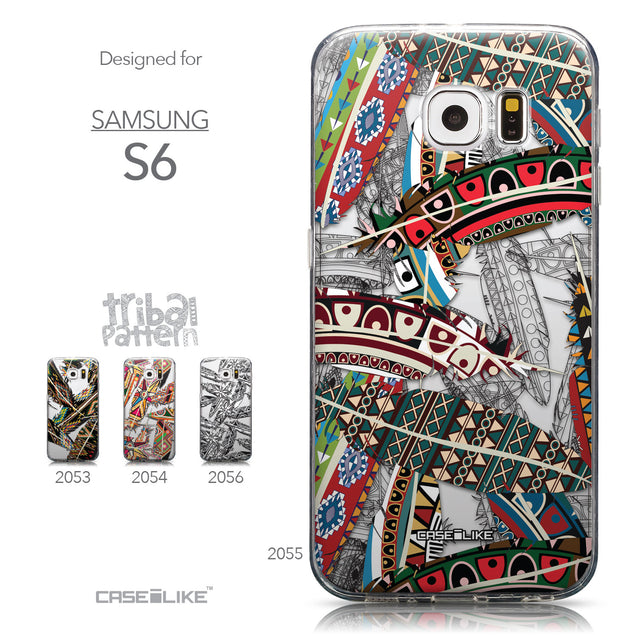 Collection - CASEiLIKE Samsung Galaxy S6 back cover Indian Tribal Theme Pattern 2055