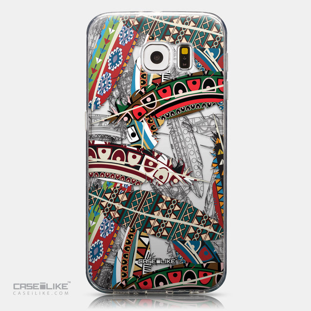 CASEiLIKE Samsung Galaxy S6 back cover Indian Tribal Theme Pattern 2055