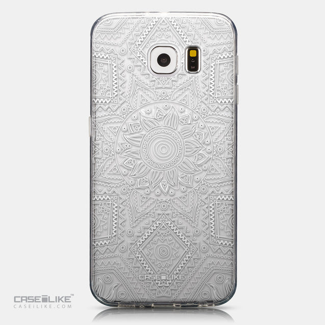 CASEiLIKE Samsung Galaxy S6 back cover Indian Line Art 2061