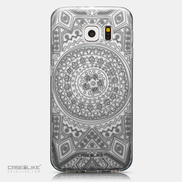 CASEiLIKE Samsung Galaxy S6 back cover Indian Line Art 2063