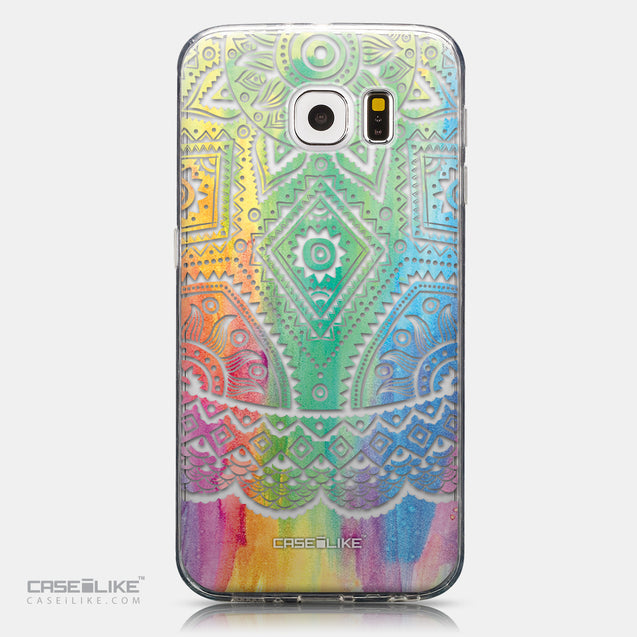 CASEiLIKE Samsung Galaxy S6 back cover Indian Line Art 2064