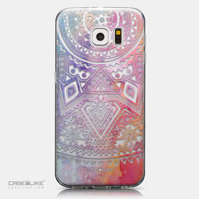 CASEiLIKE Samsung Galaxy S6 back cover Indian Line Art 2065