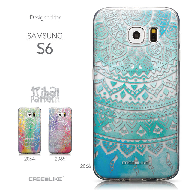 Collection - CASEiLIKE Samsung Galaxy S6 back cover Indian Line Art 2066
