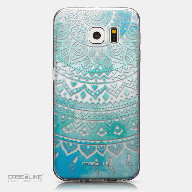 CASEiLIKE Samsung Galaxy S6 back cover Indian Line Art 2066