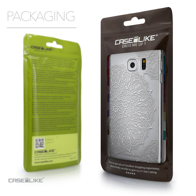 Packaging - CASEiLIKE Samsung Galaxy S6 back cover Mandala Art 2091
