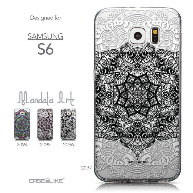 Collection - CASEiLIKE Samsung Galaxy S6 back cover Mandala Art 2097