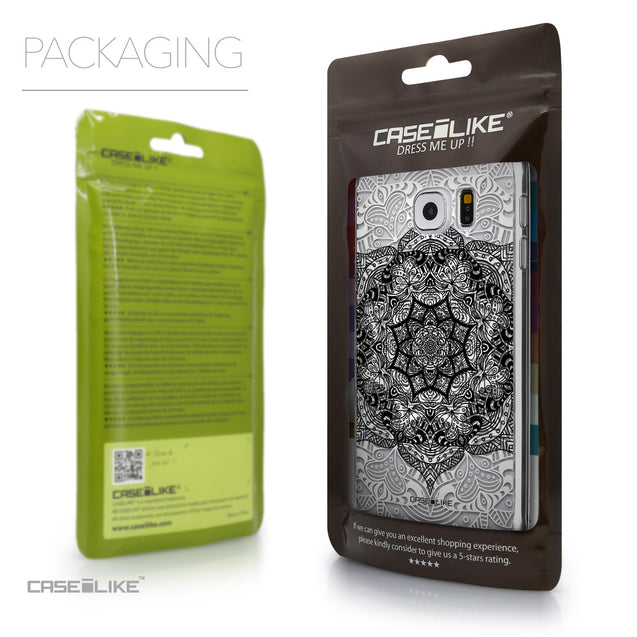 Packaging - CASEiLIKE Samsung Galaxy S6 back cover Mandala Art 2097