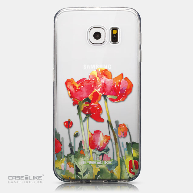 CASEiLIKE Samsung Galaxy S6 back cover Watercolor Floral 2230