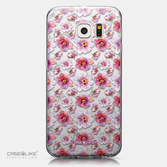 CASEiLIKE Samsung Galaxy S6 back cover Watercolor Floral 2232