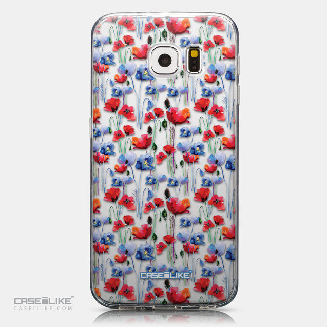 CASEiLIKE Samsung Galaxy S6 back cover Watercolor Floral 2233