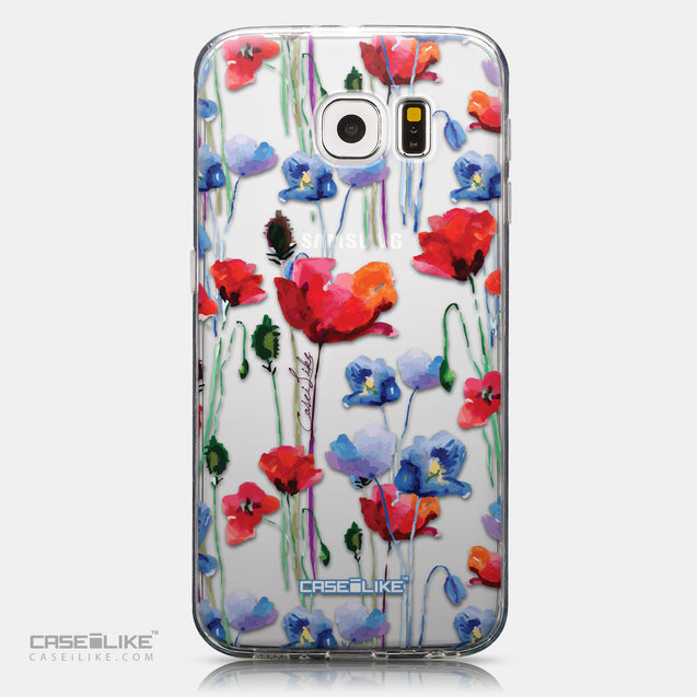 CASEiLIKE Samsung Galaxy S6 back cover Watercolor Floral 2234
