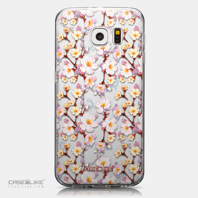 CASEiLIKE Samsung Galaxy S6 back cover Watercolor Floral 2236