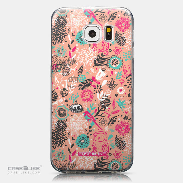 CASEiLIKE Samsung Galaxy S6 back cover Spring Forest Pink 2242