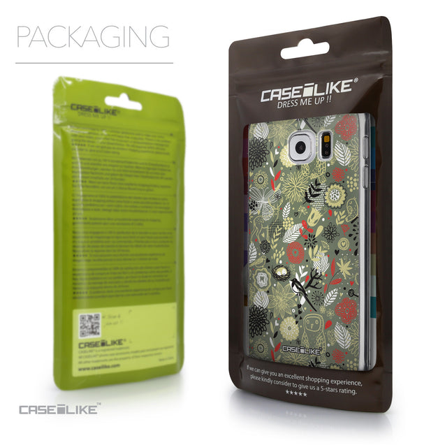 Packaging - CASEiLIKE Samsung Galaxy S6 back cover Spring Forest Gray 2243