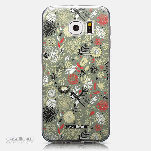CASEiLIKE Samsung Galaxy S6 back cover Spring Forest Gray 2243
